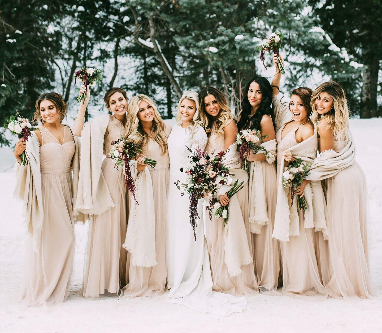 Magiczne wesela zimą w bajkowej scenerii
